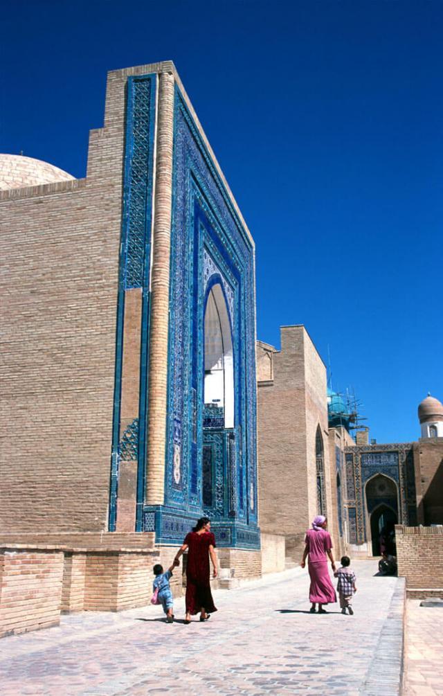mausoléu uzbequistão