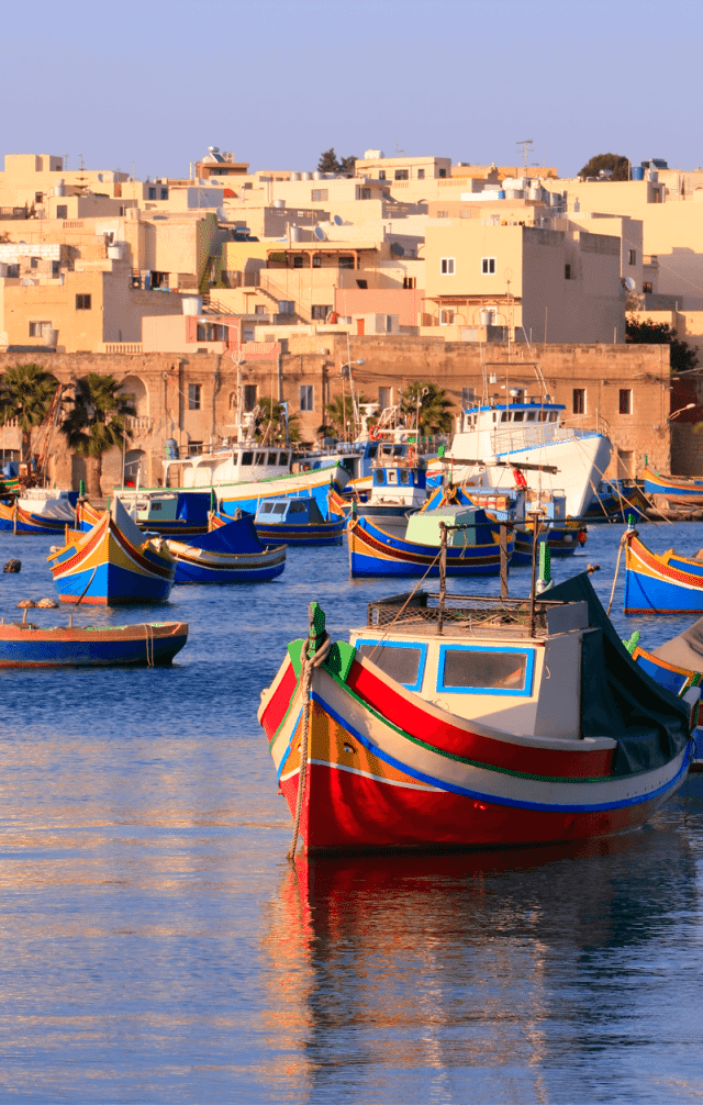 Marsaxlokk malta europa viagem