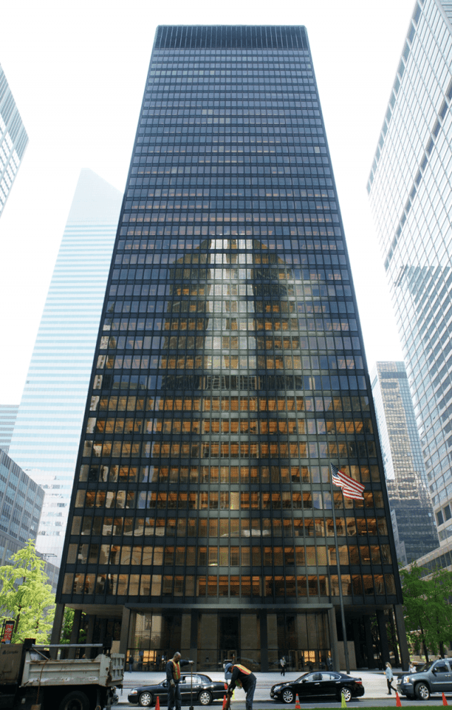 international style ny  Ludwig Mies van der Rohe