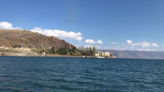 Lago Sevan Armênia Cáucaso