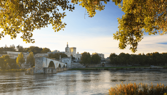 Ponte Avignon França Rio Ródano
