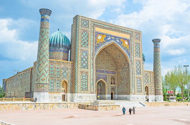 viagem para o uzbequistao