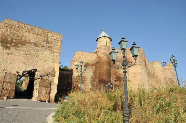 Fortaleza Narikala Tbilisi Geórgia Cáucaso