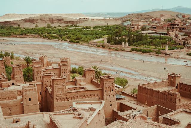 Ait Ben Haddou Marrocos África