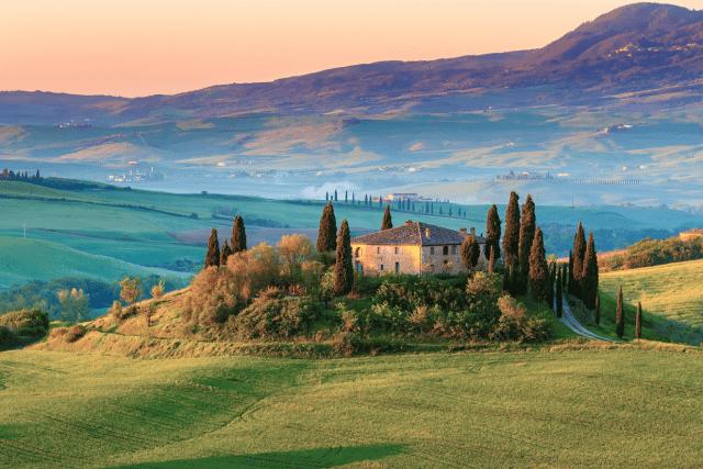 vinhedos Toscana Itália