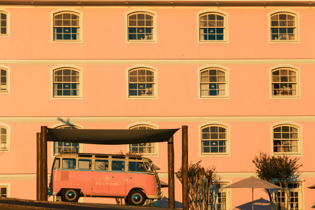 kombi rosa hotel belmond
