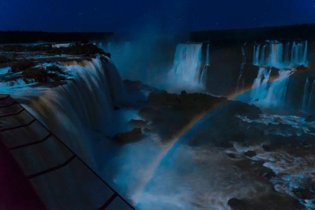 arco-íris lunar belmond foz do iguaçu
