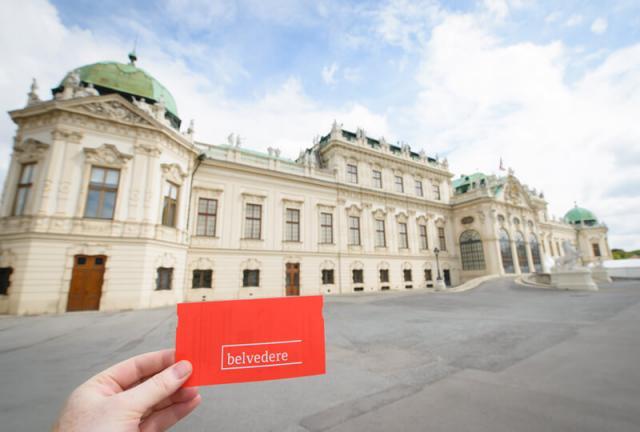 Palácio Belvedere Viena Áustria