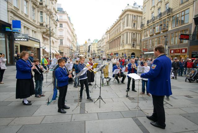 música rua viena áustria