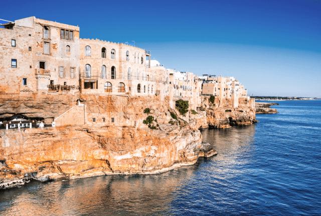 Polignano a Mare Itália Europa viagem