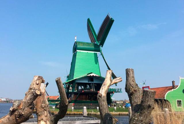 Moinhos de Kinderdijk Holanda