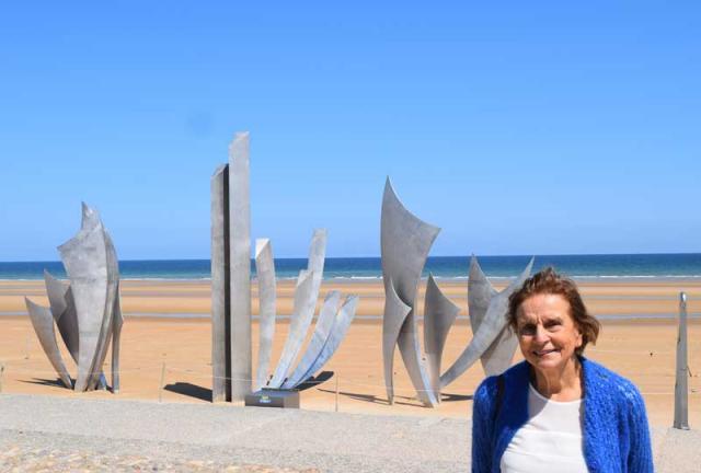 monumento les braves praia omaha Normandia França