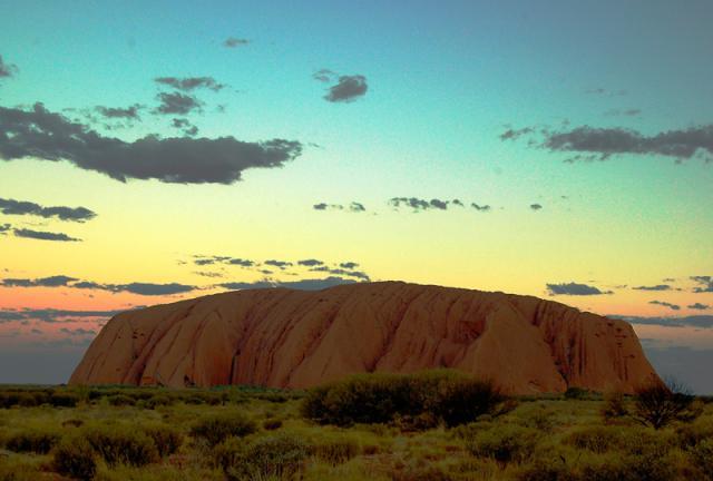 uluru ayers rock austrália
