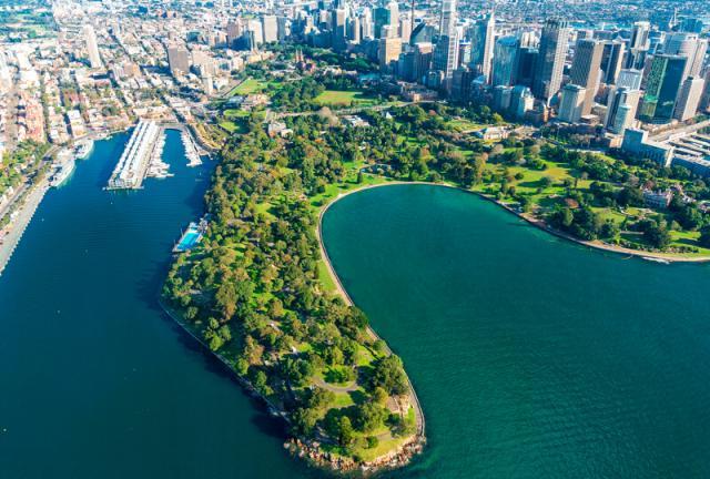 Jardim Botânico Real Sydney Austrália