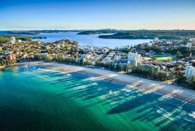 Manly Beach Sydney Austrália