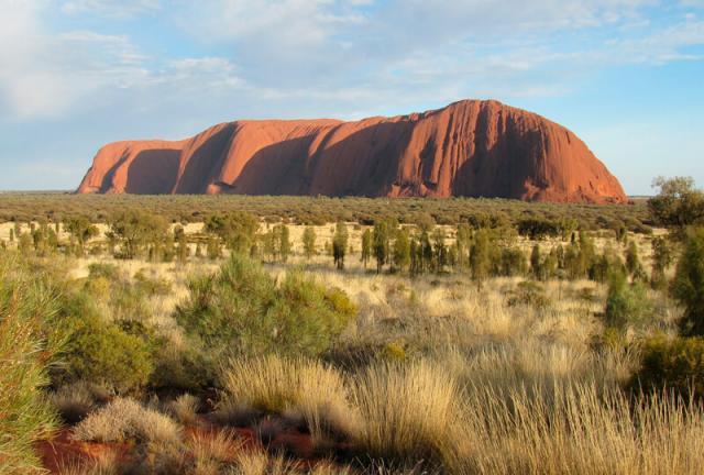 Uluru Ayers Rock deserto Austrália