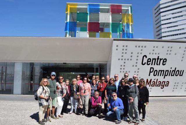 Centro Pompidou Málaga sul da espanha