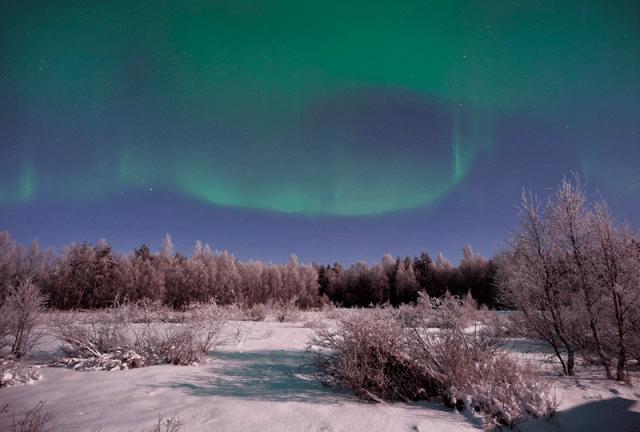 aurora boreal finlândia