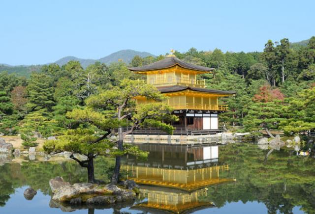 TemploKinkaku-ji Japão