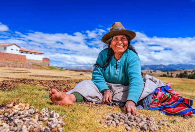 agricultura nos Andes