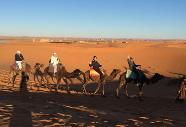 qamal e suely donato viagem marrocos