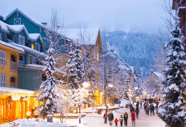 Whistler canadá inverno