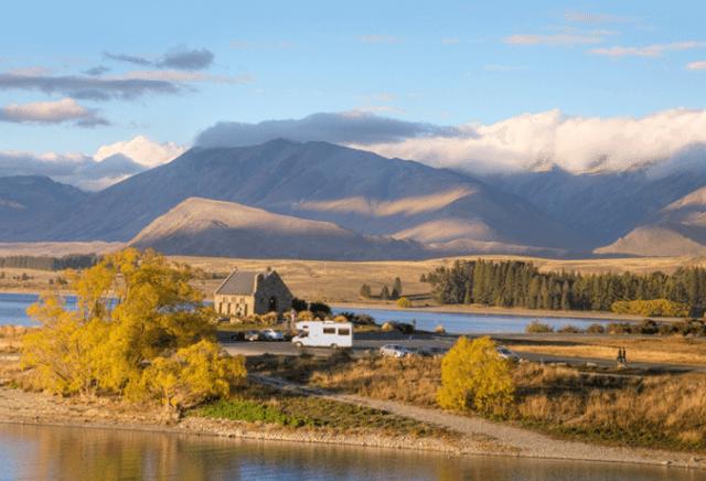 estradas Nova Zelândia
