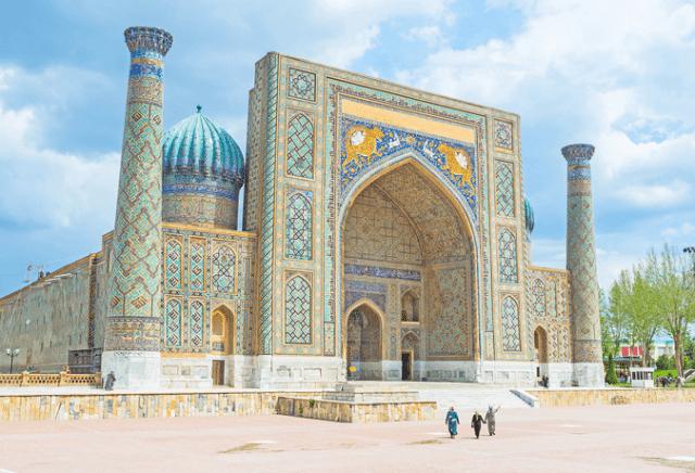 Samarcanda uzbequistão