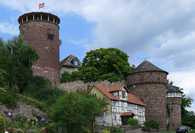 Castelo de Trendelburg rapunzel