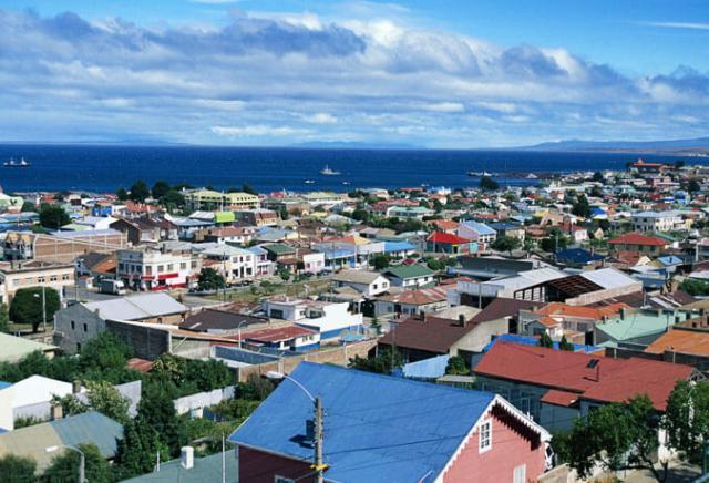 Punta Arenas na Patagônia