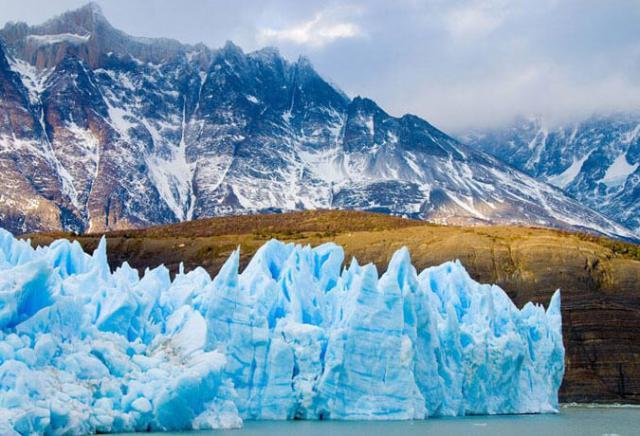 Glaciares na Patagônia