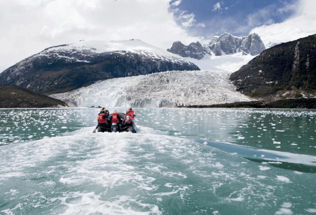glaciar pia patagonia