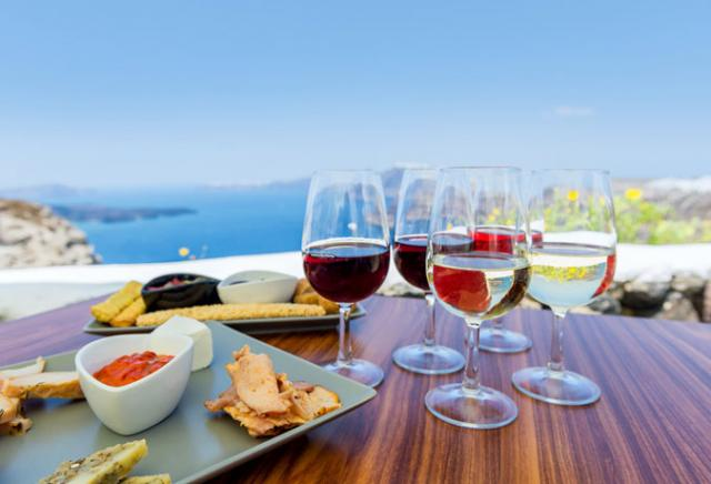 vinhos gregos