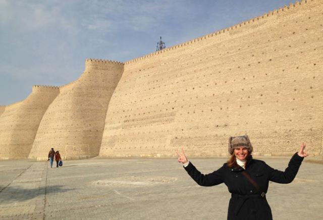 cidadelaArk Bukhara Uzbequistão