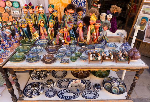 artesanato Uzbequistão
