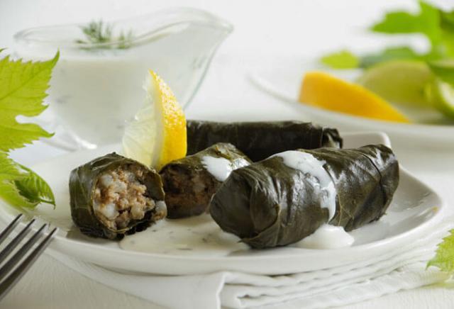 Dolmades gregos pratos gregos
