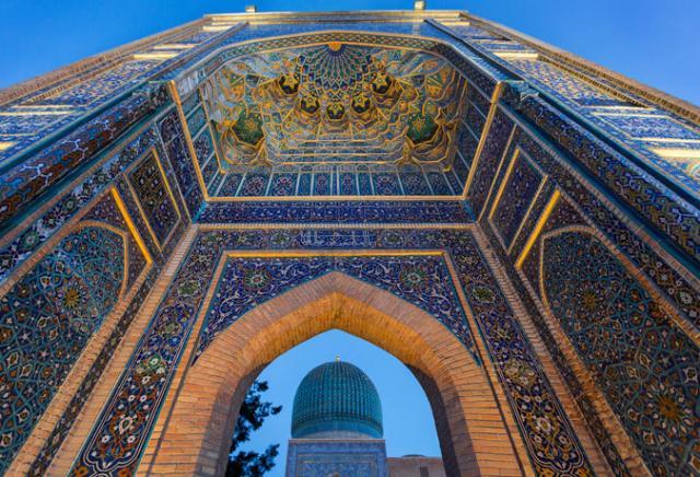 Mausoléu Samarcanda Uzbequistão