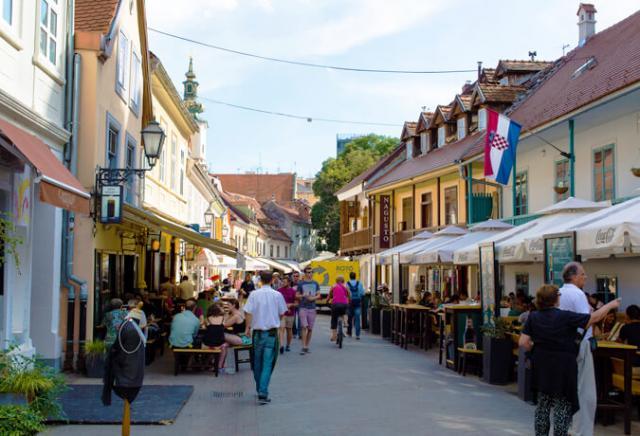 RuaTkalčićeva Zagreb Croácia