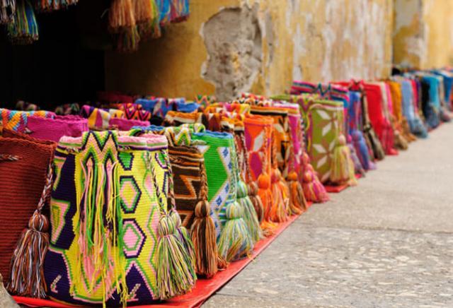 artesanato Cartagena Colômbia