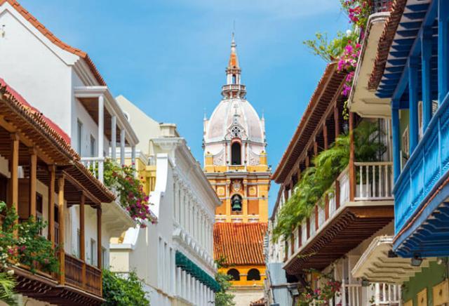 centro histórico cartagena colômbia