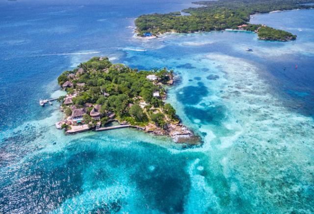 Islas del Rosario Cartagena Colômbia