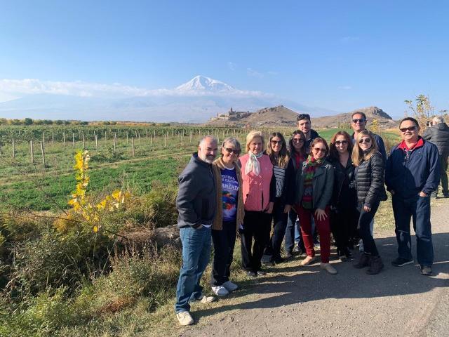 Monte Ararat Armênia Cáucaso