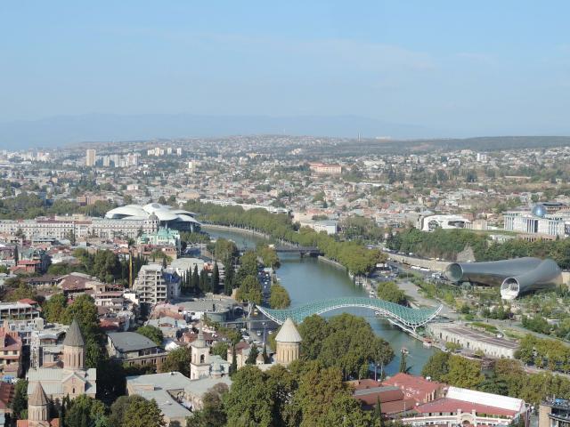 Tbilisi Ponte da Paz Cáucaso