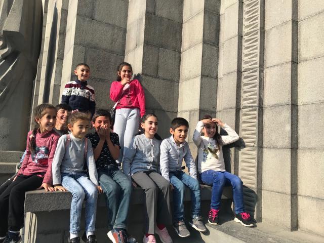 crianças armênias Cáucaso