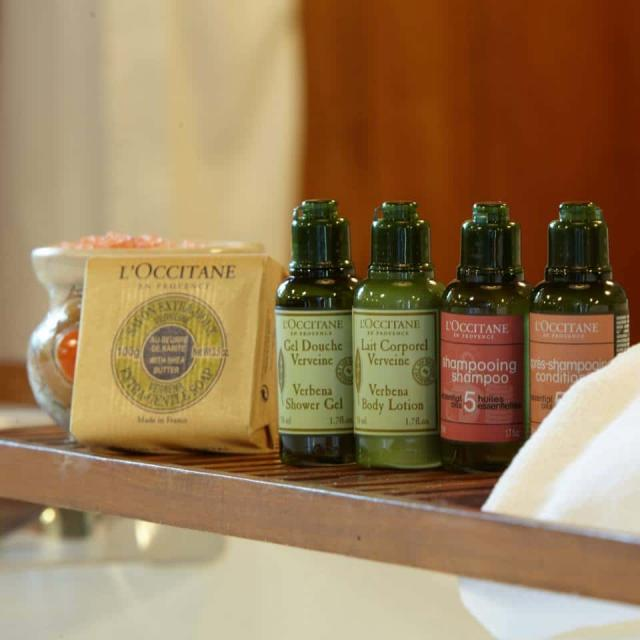 Amenities l'occitane carmelo resort & spa