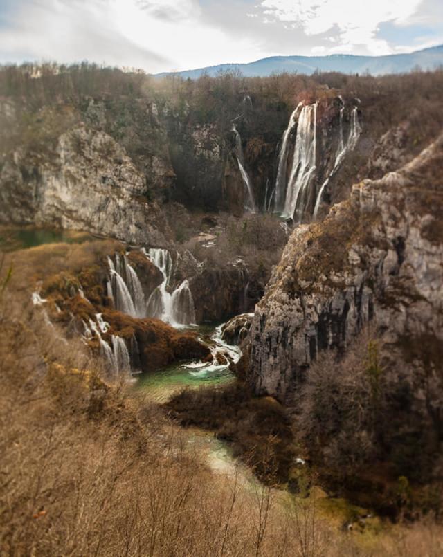 parque nacional lagos de plitvice croácia
