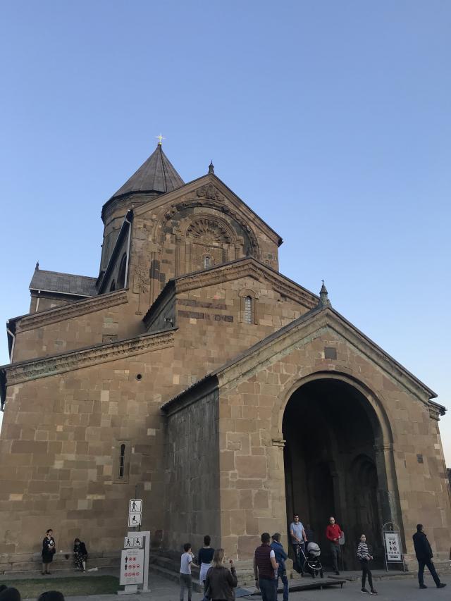 Catedral Svetitskhoveli Geórgia Cáucaso