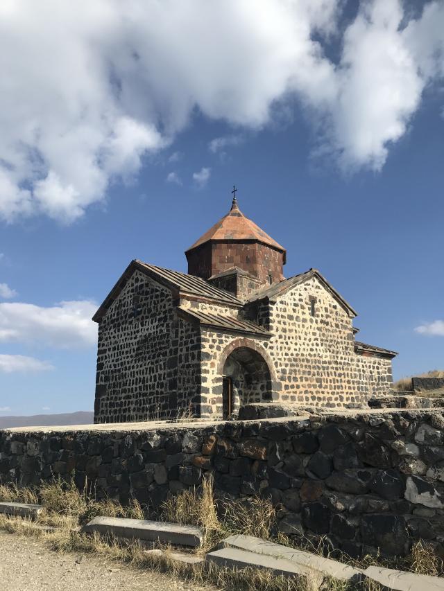 Mosteiro de Sevanavank Armênia Cáucaso