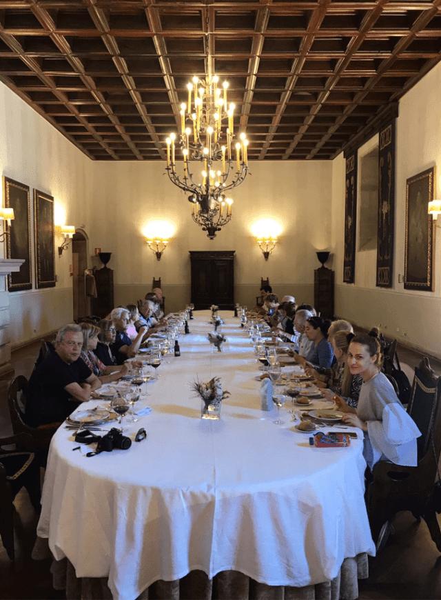 restaurante Parador de Santiago de Compostela