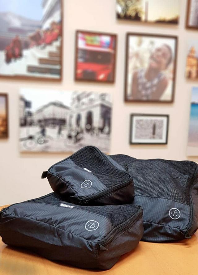 kit organizador arrumar a mala